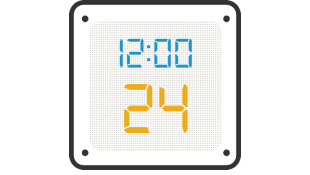 Illustration of stopwatch with five seconds elapsed